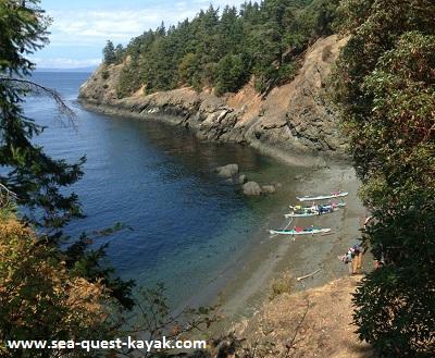 Kayak Tour on San Juan Island Beach